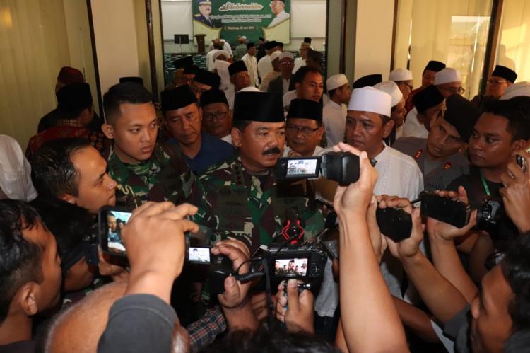 Panglima TNI Minta Penangguhan Penahanan Mayjen TNI (Purn) Soenarko