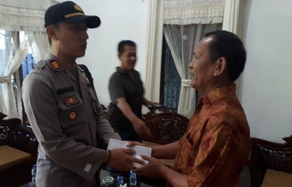 Kapolsek Patumbak Laksanakan Anjangsana ke Purnawirawan Polri