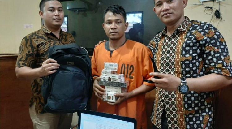 Pelaku Pembobolan Alfamart di Tanjung Morawa Berhasil Dibekuk Polres Deli Serdang
