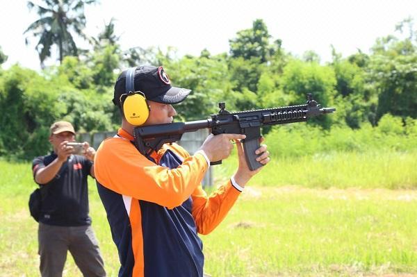 Polrestabes Medan Gelar Kejuaraan Menembak Eksekutif Bhayangkara Cup 2019