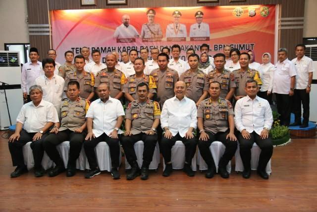 Kapoldasu dan Kakanwil BPN Sumut Kunjungi Pemko Medan