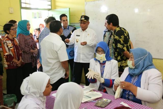 HUT Kota Medan, RSUD Dr Pirngadi Medan Gelar Pelayanan Kesehatan Gratis di Medan Selayang
