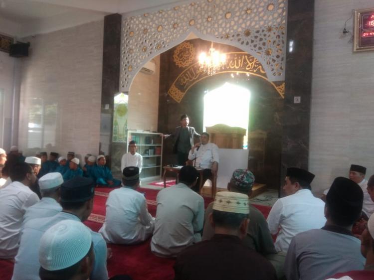 Halal Bihalal Jemaah Masjid Al Akbar Grand Monaco dan PT SLL Group Menghadirkan Ustadz Munzir Situmorang