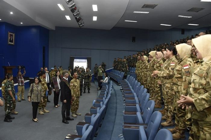 Wakil Sekjen PBB Urusan Pasukan Perdamaian Sambangi Markas Komando PMPP TNI