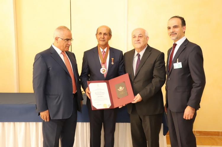Presiden Palestina Anugerahkan Tanda Jasa Kepada Dubes Hasan Kleib
