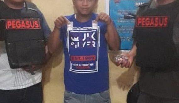 Edarkan Sabu, Pardi Diringkus Polsek Patumbak di Jalan Pertahanan