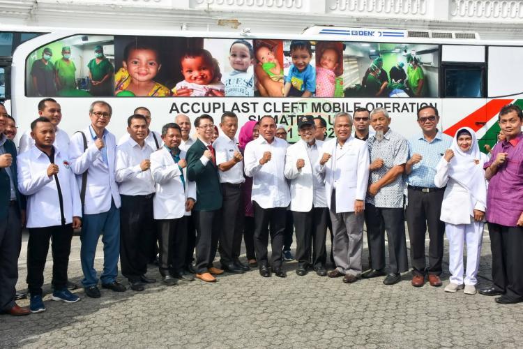 Resmikan Program Bakti Kesehatan Bermartabat Sumut,  Edy Rahmayadi Luncurkan Rumah Sakit Berjalan