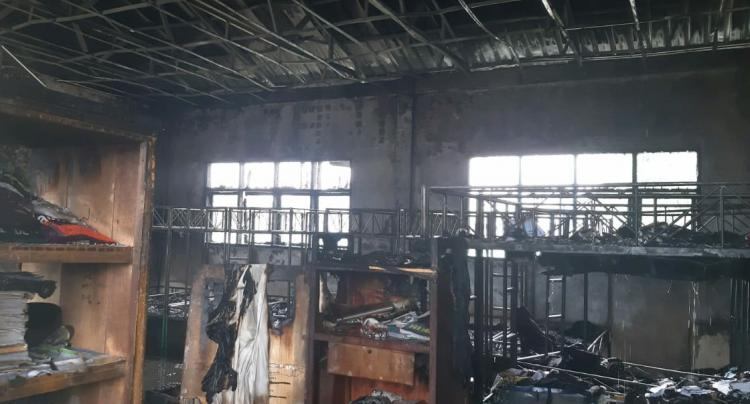 Asrama Pesantren Islamic Centre di Pancing Terbakar