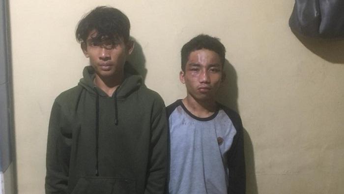 Dua Pelaku Curanmor di Jalan Beringin Medan Dibekuk Tim Pegasus Polsek Helvetia