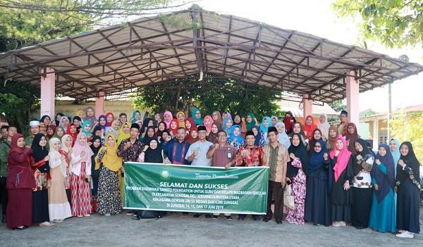 UINSU-Tanoto Foundation Latih Ratusan Guru Madrasah Swasta di Sunggal