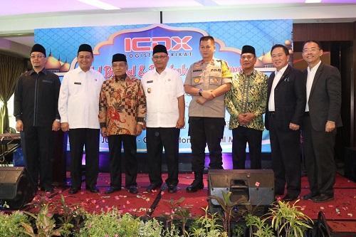 Walikota Medan Hadiri Halal Bi Halal dan Pembukaan Gudang PT ICDX Logistik Berikat