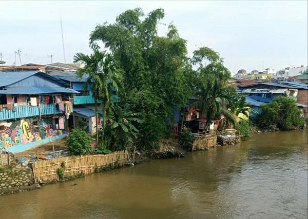 Debit Aliran Sungai di Kota Medan Alami Kenaikan