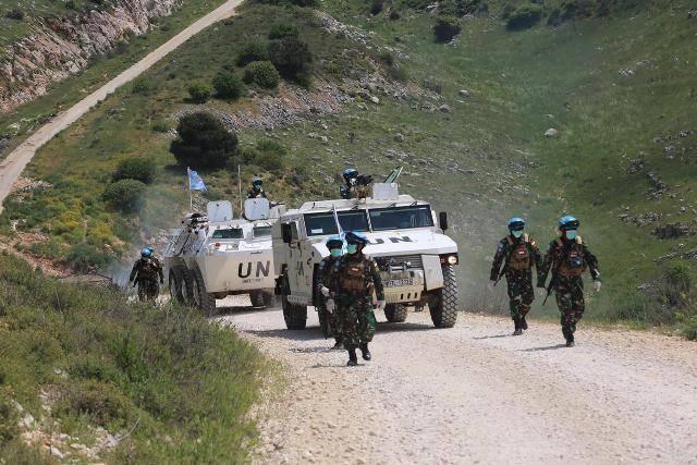 Kontingen Garuda Indobatt XXIII-N/Unifil Cegah Pertikaian Senjata Tentara Israel dan Tentara Lebanon di Perbatasan