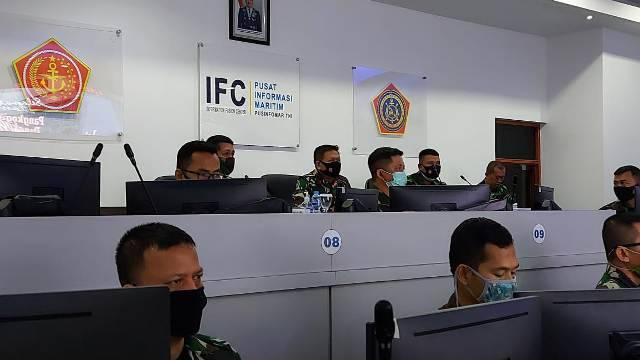 Pangkogabwilhan I Kunjungi Pusinfomar Mabes TNI di Jakarta