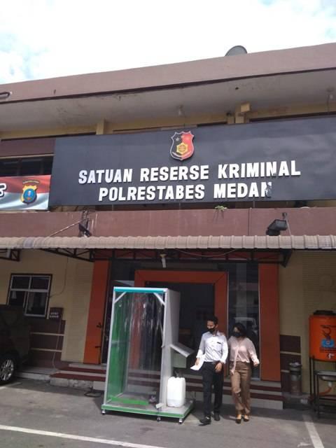 Polrestabes Medan Tindaklanjuti Penyerobot Lahan di Jalan Damar Wulan Sampali