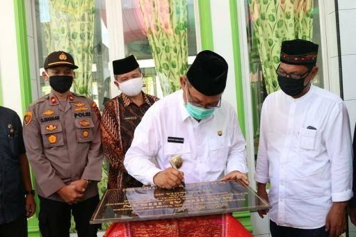Akhyar Nasution Resmikan Masjid Al Ihsan Jalan Pancing I Medan Tembung