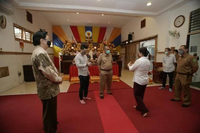 Akhyar Nasution Tinjau Penerapan Protokoler Kesehatan di Rumah Ibadah