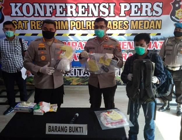Bandar Sabu Internasional Ditembak Mati di Bawah Jembatan Layang Amplas Medan