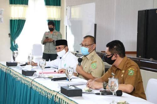 Kota Medan Menuju New Normal, Plt Wali Kota Gelar Pertemuan dengan Sejumlah Tokoh