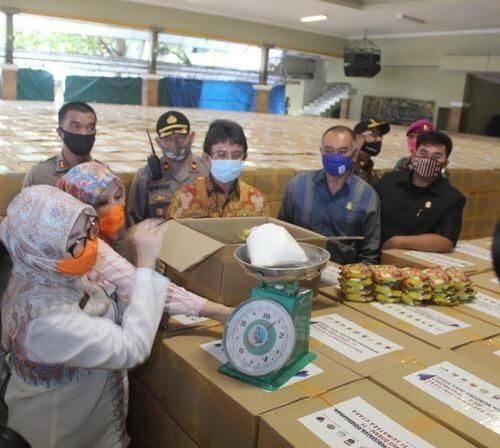 Pemko Medan Terima 128.870 Paket Sembako, Bantuan dari Pemerintah Provinsi Sumut