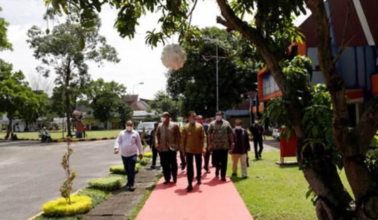 Taman Budaya Sumut Pindah ke PRSU, Wagub Musa Rajekshah Tinjau Lokasi Baru