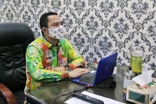 Bersama USAID Iuwash, Kadis Kominfo Kota Medan Bahas Aplikasi Medan Rumah Kita