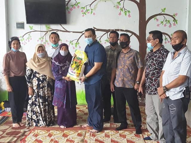 Sat Reskrim Polrestabes Medan Sambut HUT Bhayangkara ke-74 Bersama Anak-anak Panti Asuhan