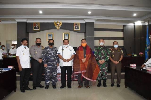 LO BNPB Nilai Penanganan Covid-19 Kota Sibolga Sudah Terlaksana dengan Baik