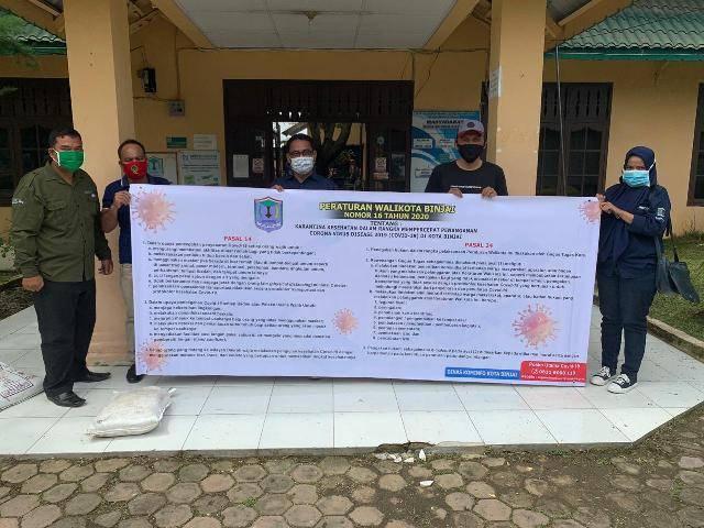 Pemko Binjai Gelar Sosialisasi Perwal Terkait Penanganan Covid-2019