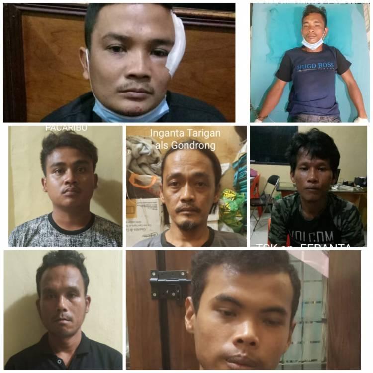 Tujuh Pelaku Pengeroyokan di Lapo Tuak Diringkus