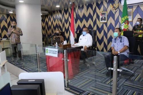 Pemko Medan Lakukan Uji Coba PPDB Kota Medan Secara Online untuk Tingkat SMP