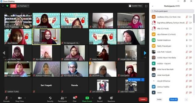 Peluncuran Organisasi Rania Turki, Perempuan Muslimah Indonesia Kini Punya Rumah Besar di Turki