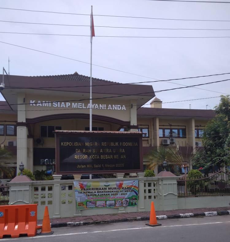 42 Perwira dan Bintara Polrestabes Medan Dimutasi