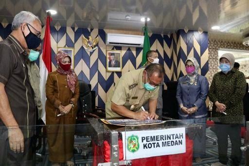 Rembuk Stunting 2020 Resmi Dibuka Plt Wali Kota Medan