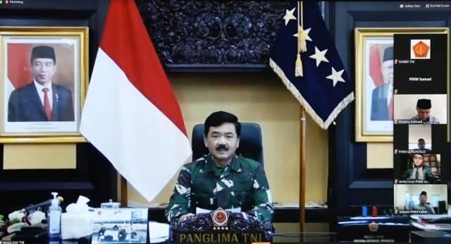 Panglima TNI: Muhammadiyah Aktif Dalam Upaya Penanganan Pandemi Covid-19
