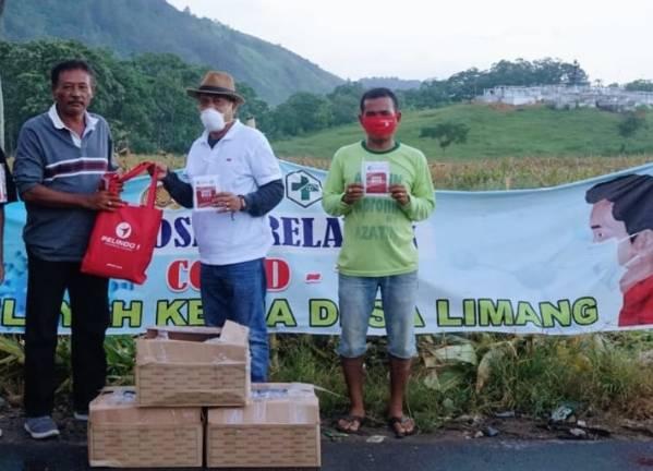Pelindo 1 Berbagi 6000 Masker untuk Warga Kabupaten Karo dan Dairi