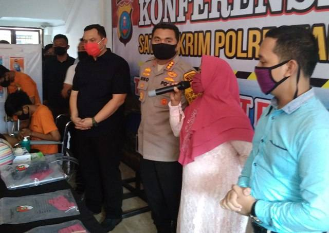 Polrestabes Medan Buru Seorang Komplotan Jambret Sadis yang Kerap Beraksi di Kota Medan