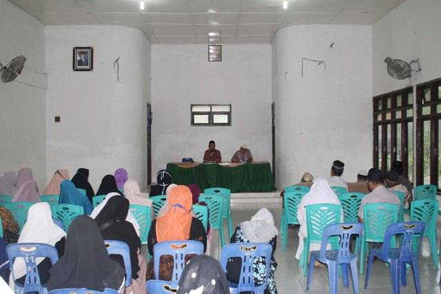 Pemberangkatan Haji Ditunda, Calhaj Asal Tapteng Diminta Bersabar dan Latih Kemampuan Hapal Doa