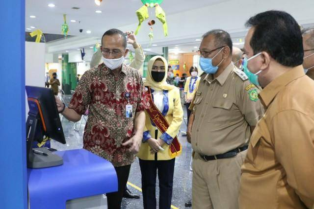 Plt Wali Kota Medan Cek Kesiapan Protokoler Kesehatan di Pelayanan Perbankan