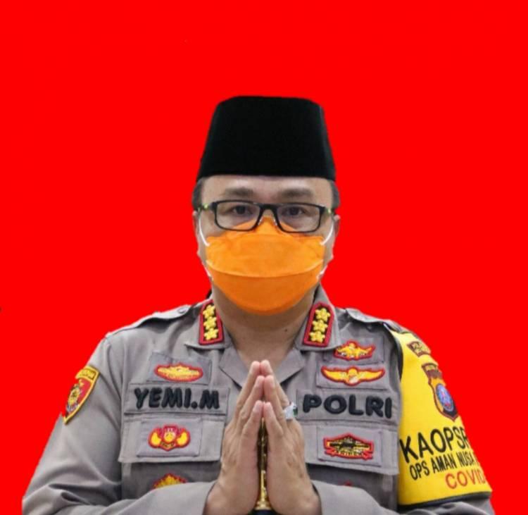 Idul Fitri Berlangsung Aman & Kondusif, Kapolresta Deli Serdang Haturkan Terima Kasih