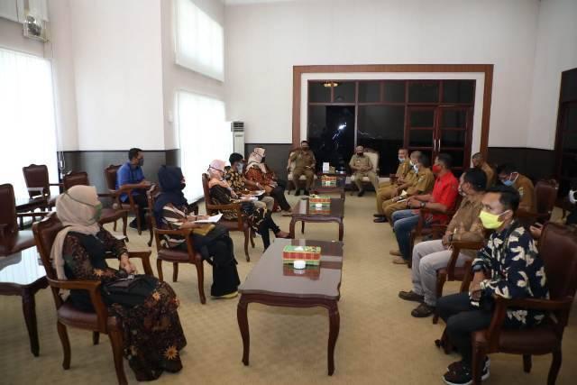 Terkena Dampak Covid-19, Forum Industri Kreatif Lakukan Audiensi ke Bupati Asahan