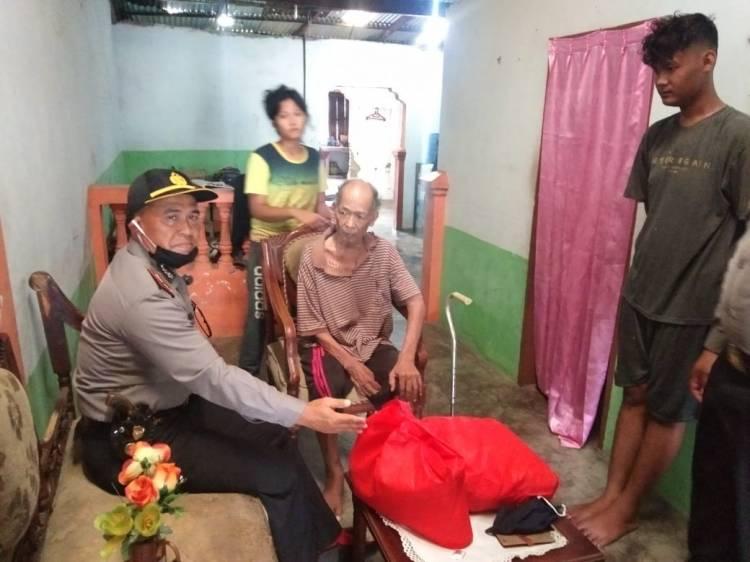 Polresta Deli Serdang Berikan Bantuan Sosial kepada Purnawiran Polri