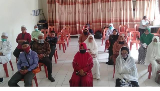 Kemenag Dairi Sosialisasi Pembatalan Keberangkatan Haji