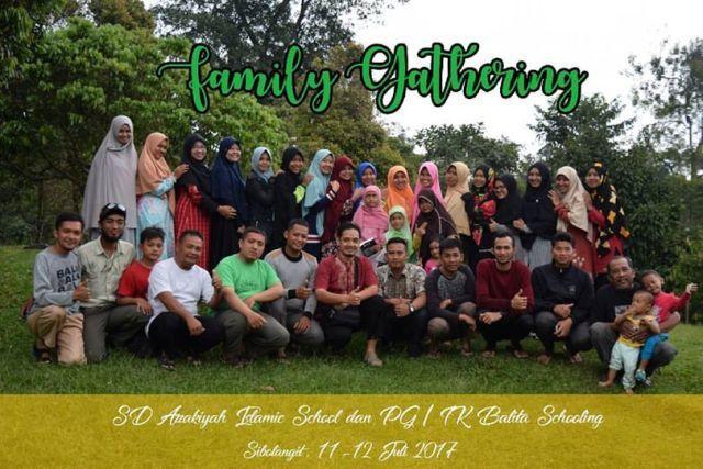 Family Gathering 2017 : AZ Zakiyah Medan & Balita Schooling Usung Konsep Outbond