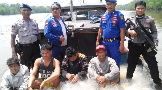 Penyelundup Bawang 11 Ton dari Malaysia Menuju Tanjung Balai Diringkus Sat Polair Poldasu