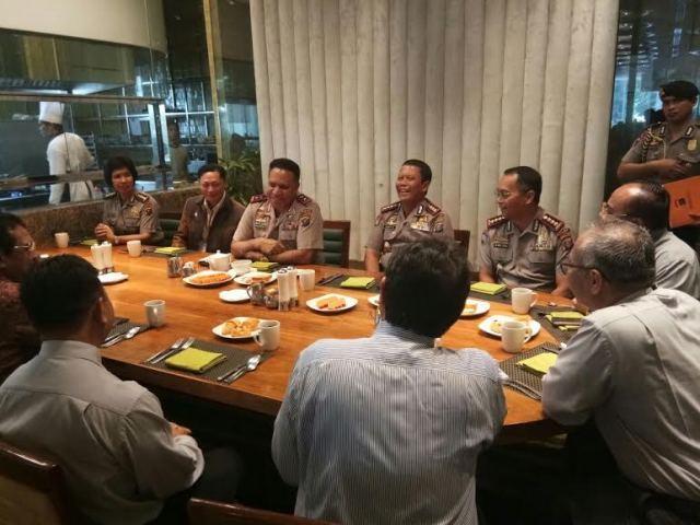 Coffe Morning dan Silaturahmi Kapolda Sumut Bersama Kanwil BRI dan Dirut PTPN II Sumut