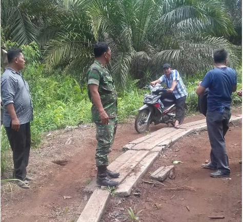 TMMD Kodim 0209/Labuhan Batu Bersama Dinas Terkait Tinjau Lokasi TMMD di Panai Tengah