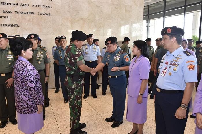 Hari Ini, 27 Perwira Tinggi TNI Naik Pangkat