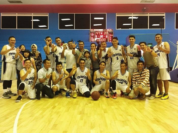 Tim Bola Basket TNI AU Juara Ketiga Adhyaksa Cup 2018