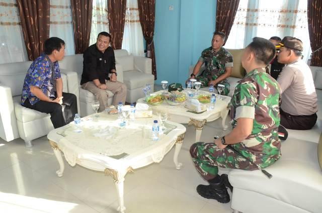 Jelang Tanam Mangrove di Perbatan RI-Malaysia, Bakamla Audiensi dengan Sekda Nunukan